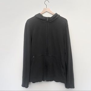 Lululemon Gray Zip Up Running Hoodie